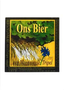 logo ons bier